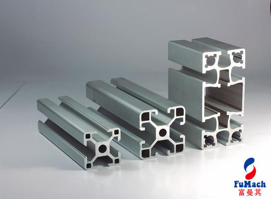 China 6063 Silver Extrusion Aluminum  Profiles of Assembly Line Used Car Trains Machinery supplier