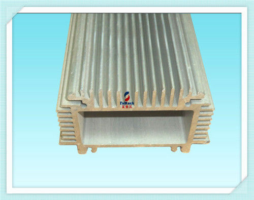China Silver Anodic Oxidation Structural Aluminum Profiles Customized For Industrial Filed supplier