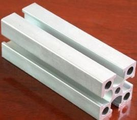 China Material 6061 6060 6063 Industrial Aluminum Profiles With Shoulder Slot Width 8mm supplier
