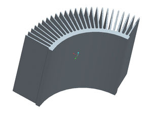 China 6005 Aluminum Heatsink Extrusion Profiles 6 M Length Alkali - Resisting supplier