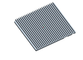 China Professional Heatsink Extruded Aluminium Profile , Milling Heatsink Extrusion Profiles supplier
