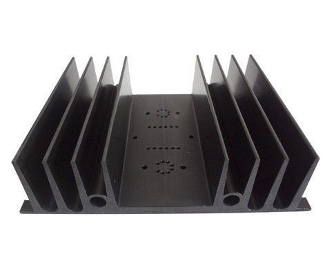 China Electrophoresis Coating Heatsink Profile Aluminum , T6 Machined Aluminium Profiles supplier