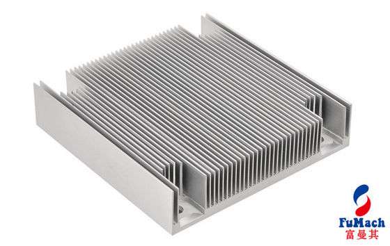 China Custom Heat Sink Aluminum Profiles Anodized Surface For Medical Equipment supplier