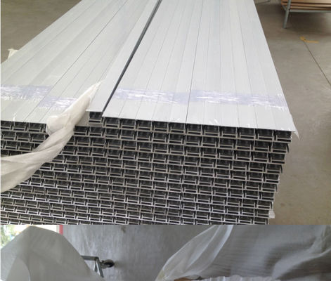 China Alloy Solar Standard Aluminium Profiles , Aluminum Solar Panel Frame Wood Grain Painting supplier
