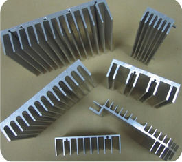 China Professional T3 / T4 Heat Sink Aluminum Profiles Extruded For Led Light supplier
