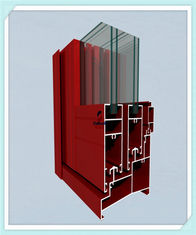 China Sliding Door Window Aluminum Profile High Strength Customized Length supplier