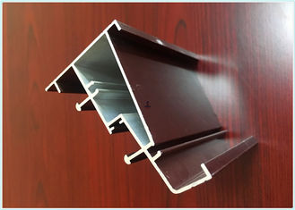 China Thermal Insulation Wood Finish Aluminium Profiles Precise Cutting For Medical Equipment supplier