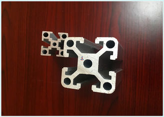 China 6063 T5 / T8 T Slot Siver Anodizing Structural Aluminum Profiles ISO9001: 2008 supplier