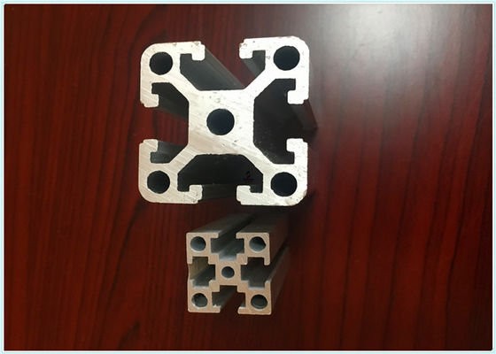 China Smooth Structural Aluminum Shapes , T6 Standard Aluminium Extrusion Profiles supplier