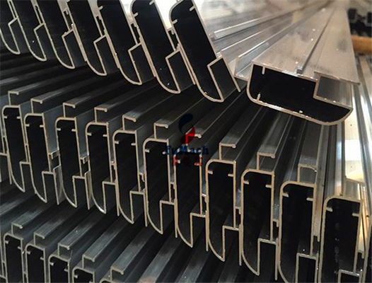 China 6063 Drilling Oxidation Industrial Structural Aluminium Extrusion T Slot for Multi - Room supplier