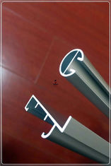 China Industry Aluminum Extrusion Profiles , Aluminum Window And Door Frame Profile Curtain Tubing supplier