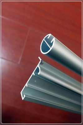 China Customized 6000 Series Aluminium Window Construction Curtain Tubing Anodizing Surface supplier