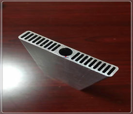 China 6061 T3- T6 Alloy Extruded Aluminum Profiles Heat Sink Channel For Industry BMW Car supplier