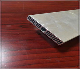 China Industry Structural Aluminum Extrusions Heat Sink Parts 56mm X 9mm X 1mm supplier