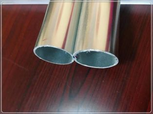 China Silvery Anodized Aluminum Extrusion Tube Profiles For Industry Aluminum Profile supplier