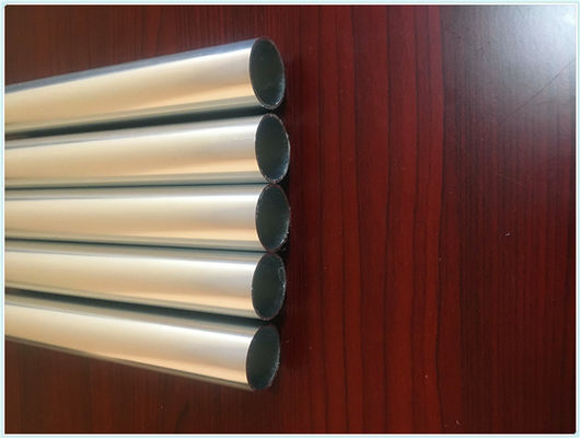 China Anodized Aluminum Round Tube Heat Insulation 6000mm Length For Industry Parts supplier