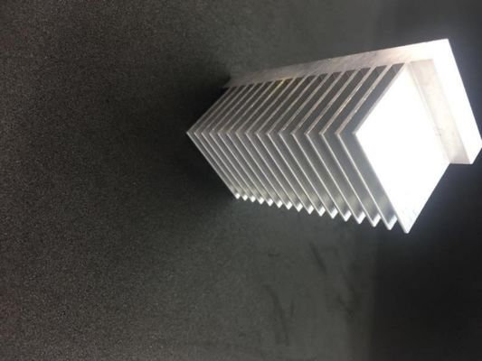 China Finished Heat Sink Aluminum Profiles Product For Industry Aluminum Extrusion Parts supplier