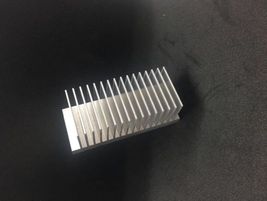 China 6063 T5 T6 Heat Sink Aluminum Profiles Extrusion Anodiczed Silver For Electronics supplier