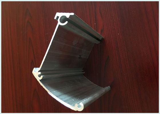 China Industry Equipment Extruded Aluminum Enclosure Silver With Powder Coating supplier
