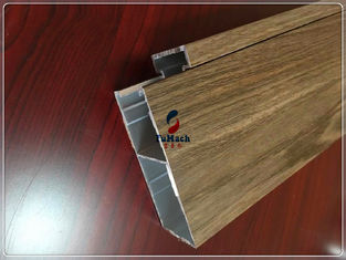 China Customized Industrial Commercial Door Aluminium Profiles 6063 T5 For Building Outside supplier