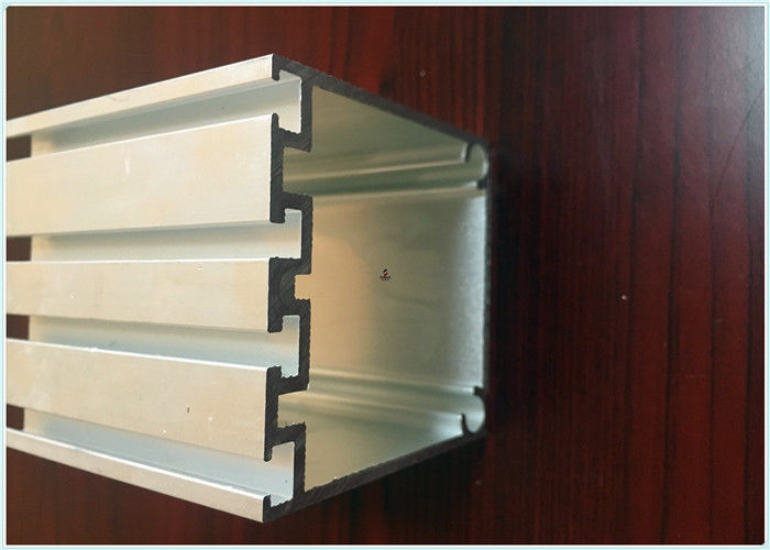 Silver White Aluminium Extrusion Channel Profiles
