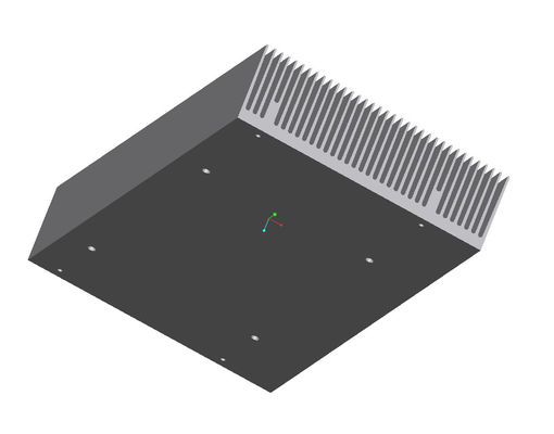 Alkali - Resisting T5 Extruded Aluminum Profiles PVDF Coating For LED Heat Sink