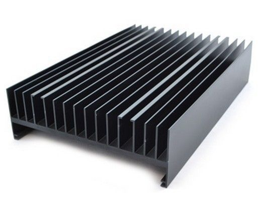 6063 Aluminum Heat Sink Aluminum Profiles For Industry Precise Cutting