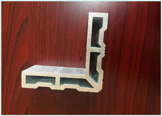 6063 T5 38*38MM Mill Finish 90 Degree Industrial Aluminum Profile With Solar Mounting Bracket Part