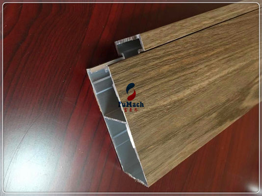 China Customized Industrial Commercial Door Aluminium Profiles 6063 T5 For Building Outside factory