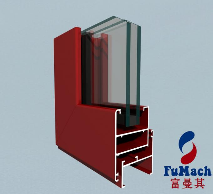 Sliding Wardrobe Door Aluminum Extrusion Profiles