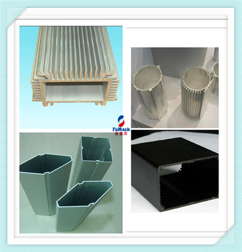 Silver Anodic Oxidation Structural Aluminum Profiles Customized For Industrial Filed
