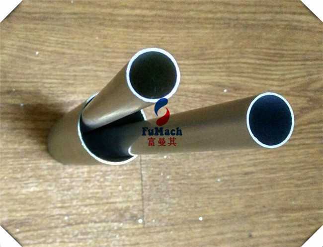 6063 T5 Anodized Aluminum Alloy Profile Tubes High Precision Length 1000mm