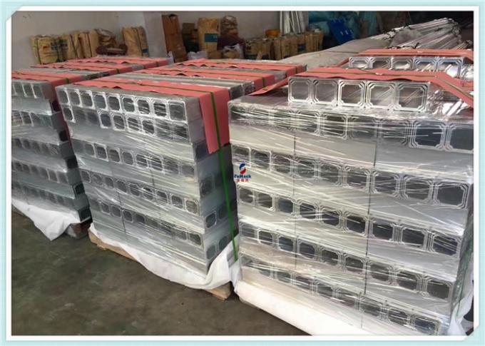 Professional Customized Silver 6063 Structural Aluminum Profiles