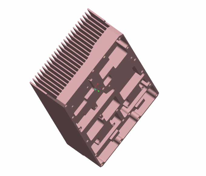 Anodized Sliver Aluminum Extrusion Heatsink Profiles for Auto Led Lightings