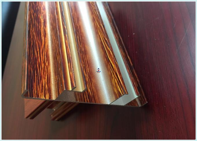 T5 / T6 Window Aluminum Profile Structural Aluminum Channel ISO9001 2008