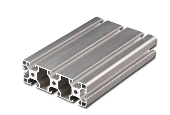Structural T Slot Aluminium Profile , High Purity Modular Aluminum Profiles