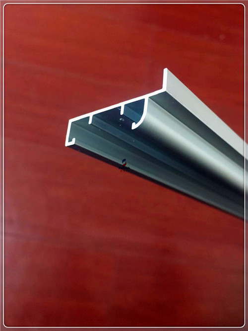 Anodized Silvery Window Aluminum Profile Extrusion Curtain Frames For 6063 T5/T6