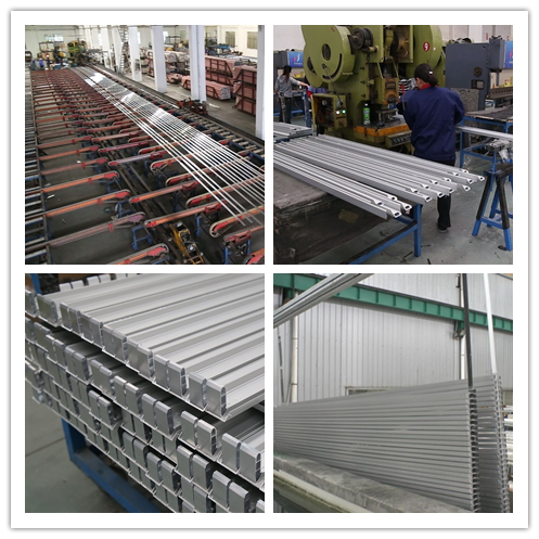 6061 Extruded Aluminum Enclosure Standard Aluminum Alloy Extrusion For Electronis