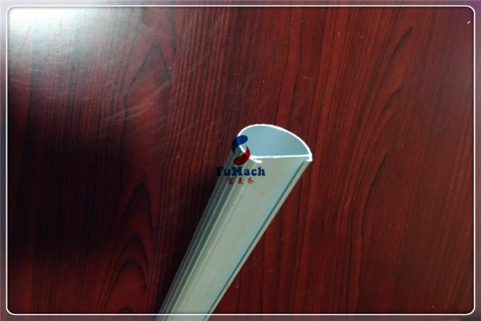 LED Light Aluminium Hollow Profile Extrusion Tube For Industry Aluminm Profiles