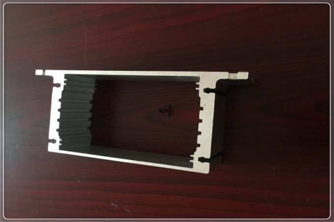 6000 Series Silver Aluminum Extrusion Profiles For Industrial , Customized