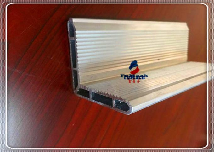 Alloy 6063 Anodized Aluminum Profiles Aluminum Extrusion Tubing For Industry Parts