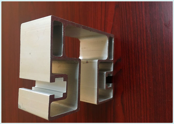 Mill Finish Aluminium Moulding Profiles High Precision For Solar Energy Industry