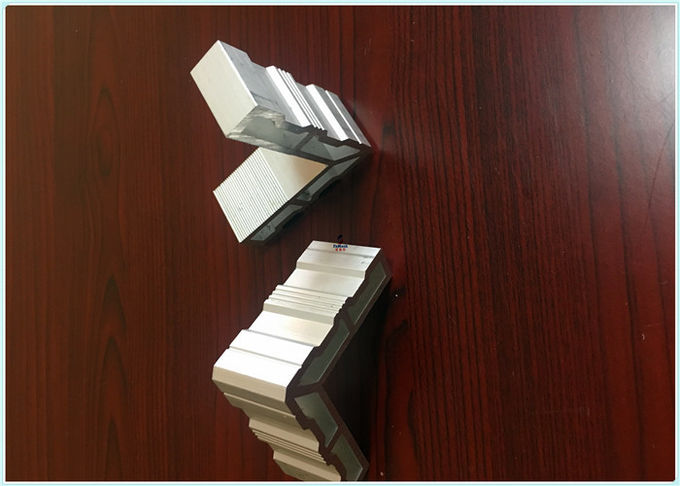 AL6063 - T5 99.7% Industrial Aluminum Profile With Drilling / Cutting